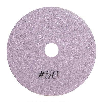 "Specialty Diamond BRTW450 50 Grit 4"" 3mm Thick Diamond Wet Polishing Pad: Home Improvement"