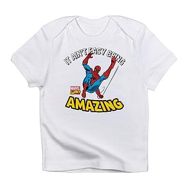 31533ba2cbbdd Amazon.com  CafePress Spider-Man Amazing T-Shirt Baby T-Shirt  Clothing