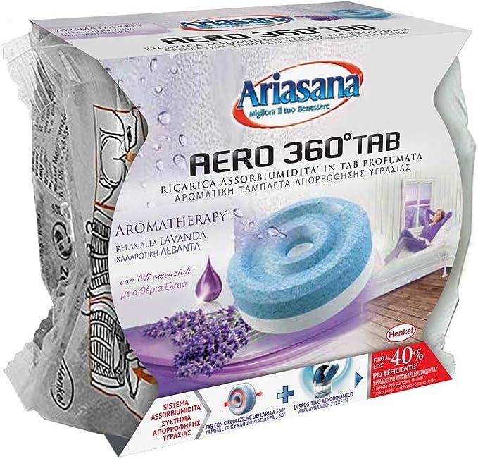 450g profumazione Frutta Ariasana 450 g Ariasana 1680706 Aero 360 Kit Assorbiumidit/à per Tab Ricaricabile 2091843 Ricarica Tab assobiumidit/à per Aero 360