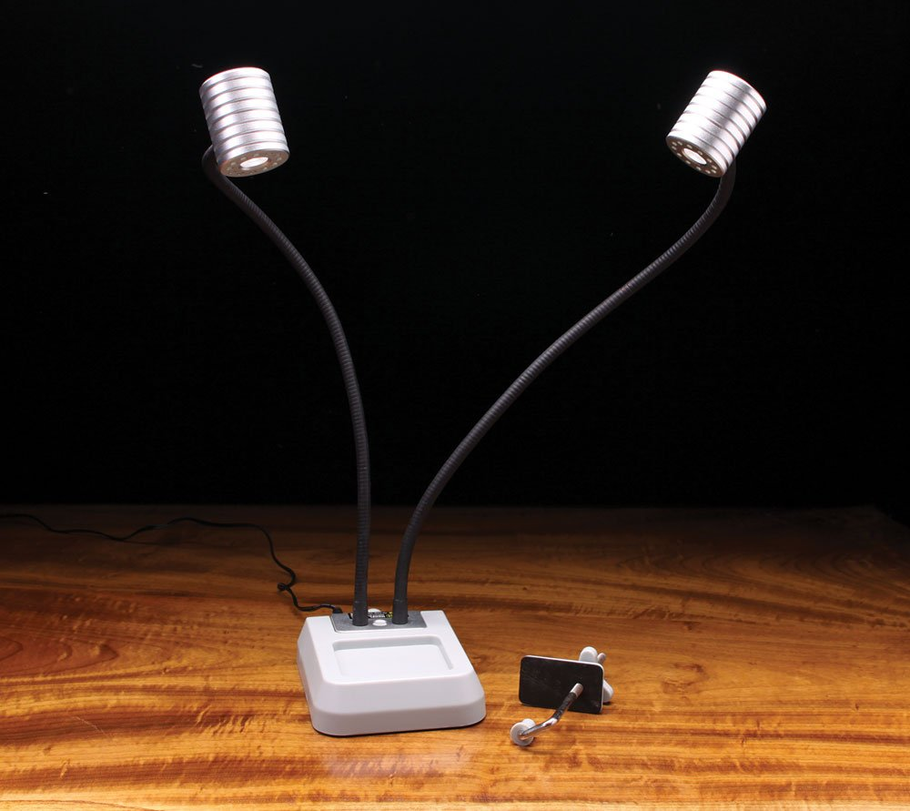 Pro Lite Dual Head Led Fly Tying Light