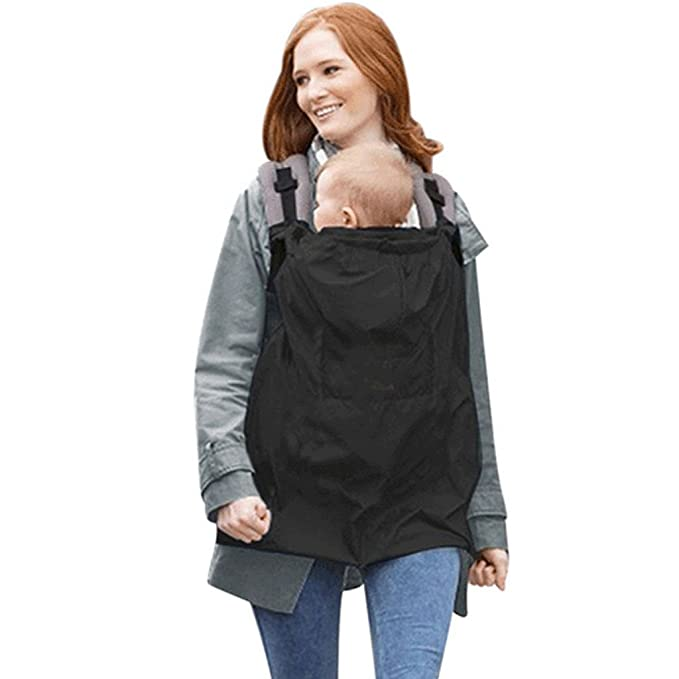 Baby Carrier Sling Cover Cloak Wind Rain Cover Hood Coat Mantle outdoor essential in any seasons