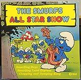 THE SMURFS all star show LP Used_VeryGood NE 1116 K-Tel UK 1981 Record Original