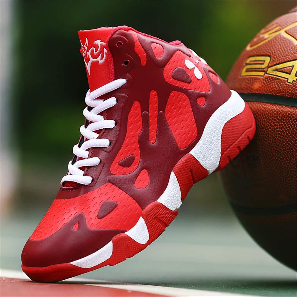 Zapatillas Deportivas de ca/ña Baja Impermeables TTCXDP Zapatillas de Baloncesto para ni/ños 30 Negro para Senderismo y Deportes al Aire Libre