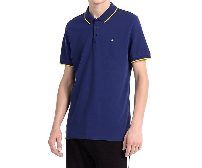 Calvin Klein Polo Jeans Paul Azul: Amazon.es: Ropa y accesorios