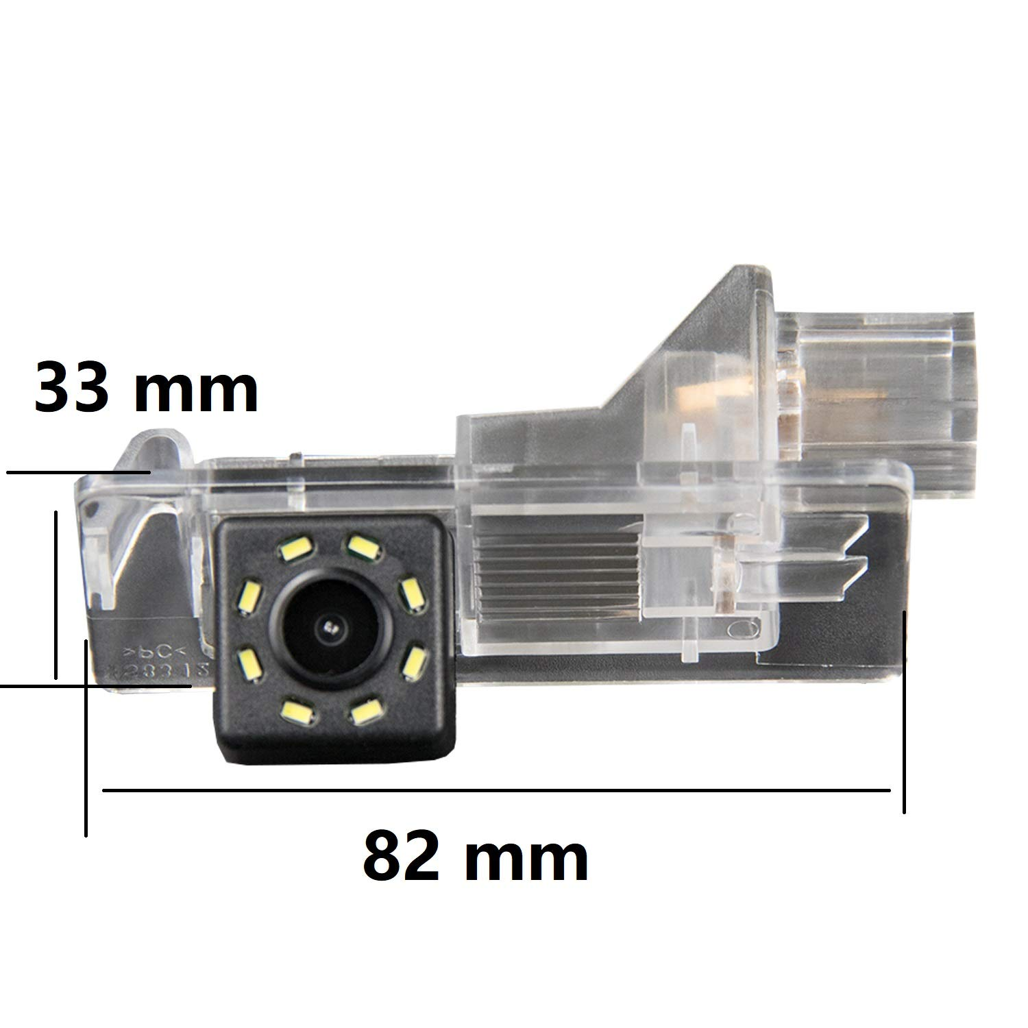 Reversing Vehicle-Specific Camera Integrated in Number Plate Light License Rear View Backup camera for Renault Kangoo 2 II Kangoo Express 2008~2017