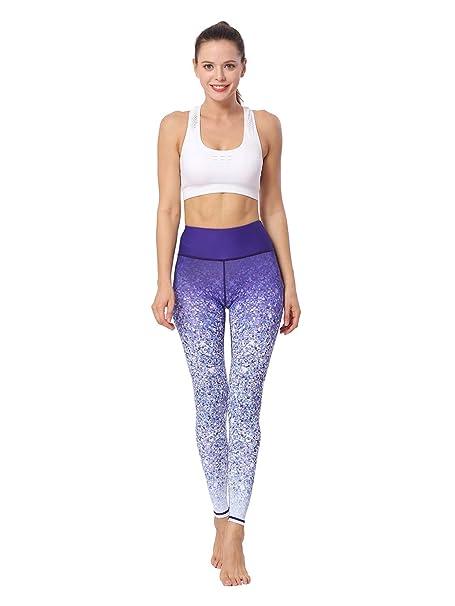 H.Y.F Pantalones de Yoga Control de la Barriga Mallas ...