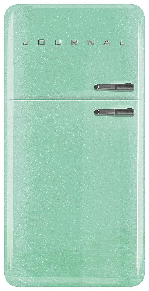 Vintage Refrigerator Journal Running Press, Lucia Gaggiotti