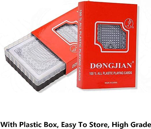 Meatyhjk juego de cartas de plástico PVC impermeable de calidad ...