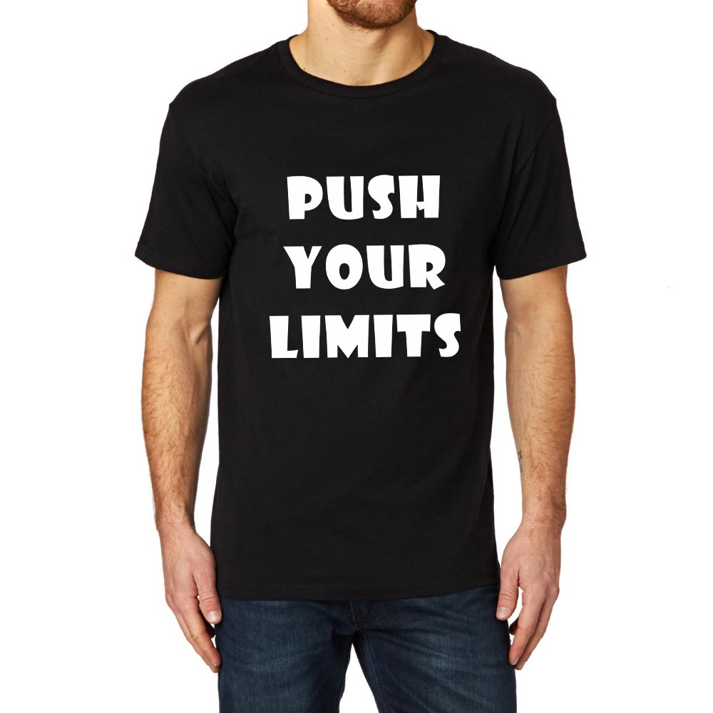 Loo Show S Push Your Limits T Shirt Casual Tee