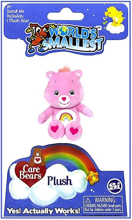 "Worlds Smallest Care Bear Share Bear Plush 3/"""