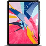 """ESR Yippee Trifold Smart Case V2.0 for iPad Pro 12.9"""" 2018, Lightweight Stand Case,Auto Sleep/Wake[Apple Pencil Charging Supported],Microfiber Lining, Hard Back Cover for iPad Pro 12.9"""" 2018, Black"""