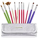 Best Acrylic Nail Brushes - Clyppi Nail Art, Gel and Acrylic Brushes Set Review