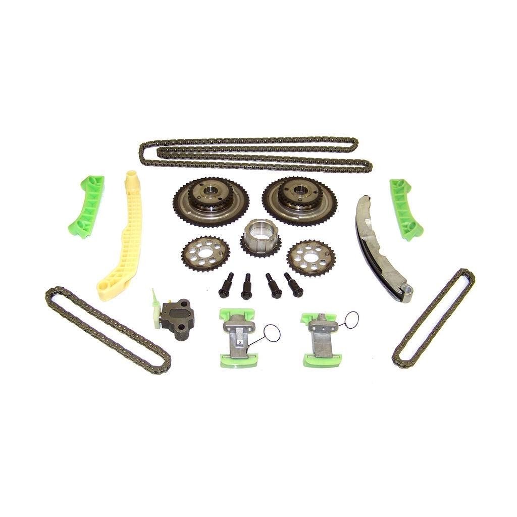 DNJ TK3158 Timing Chain Kit for 1999-2002 / Oldsmobile/Aurora, Intrigue / 3.5L / DOHC / V6 / 24V / 214cid