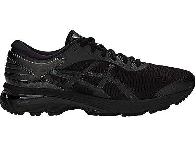 3f8b141c643 ASICS Gel-Kayano 25 Men's Running Shoe, Black/Black, 7.5 D(M) US