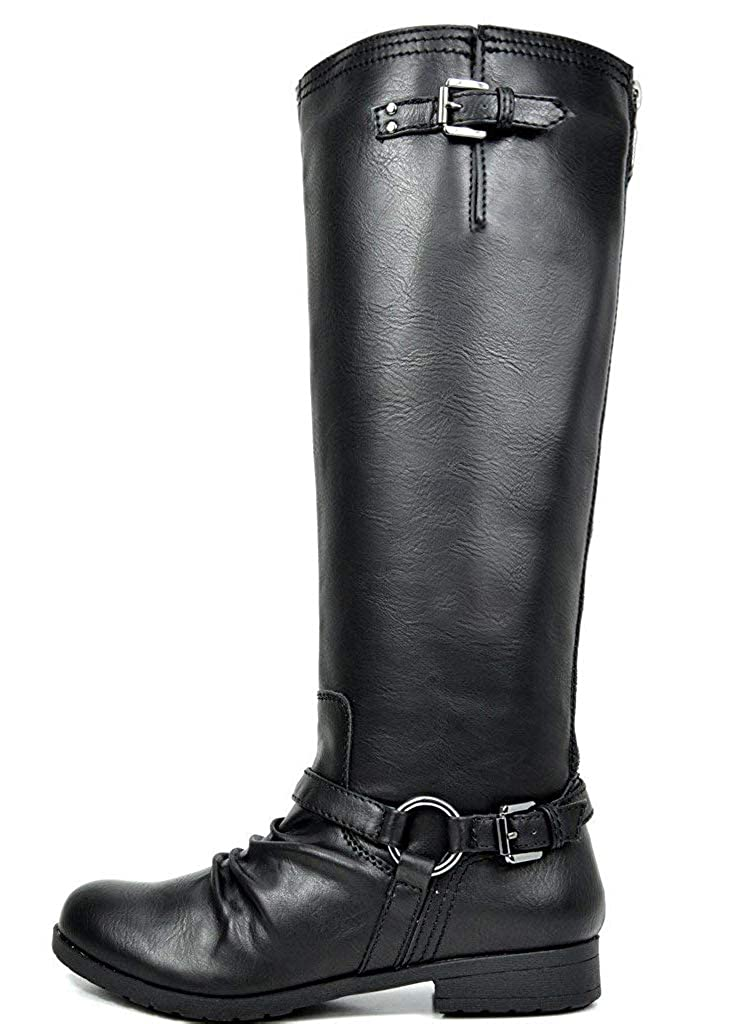 9d2b6e00c Amazon.com | TOETOS Women's Fashion Knee High and Up Riding Boots |  Knee-High