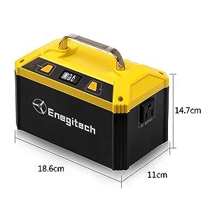 Enegitech 178Wh AC出力不明 ポータブル電源