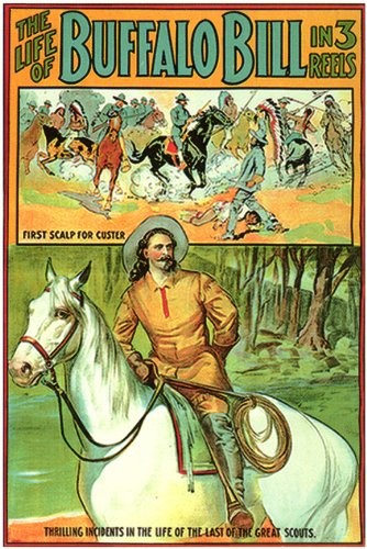 The Life of Buffalo Bill Poster 27x40 William F. Cody Paul Panzer Pearl White