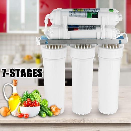 PSATO Filtro de Agua de 7 etapas, Sistema de ultrafiltración para ...