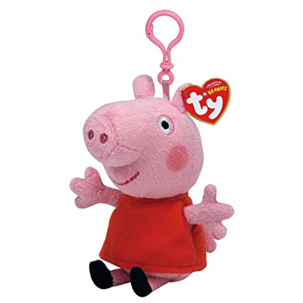 7cef3e5a1d0 Image Unavailable. Image not available for. Color  Ty Beanie Babies Peppa  Pig ...
