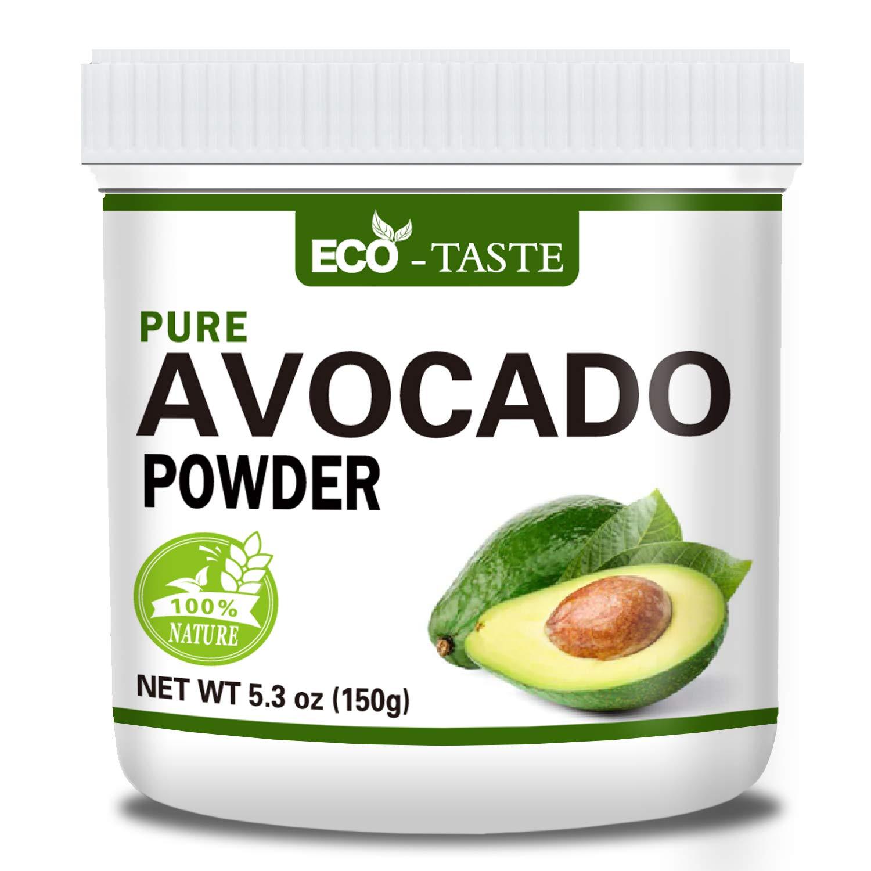 Natural Avocado Fruit Powder, 5.3oz, 100% Pure, No Gmo, No Fillers, Vegan Friendly