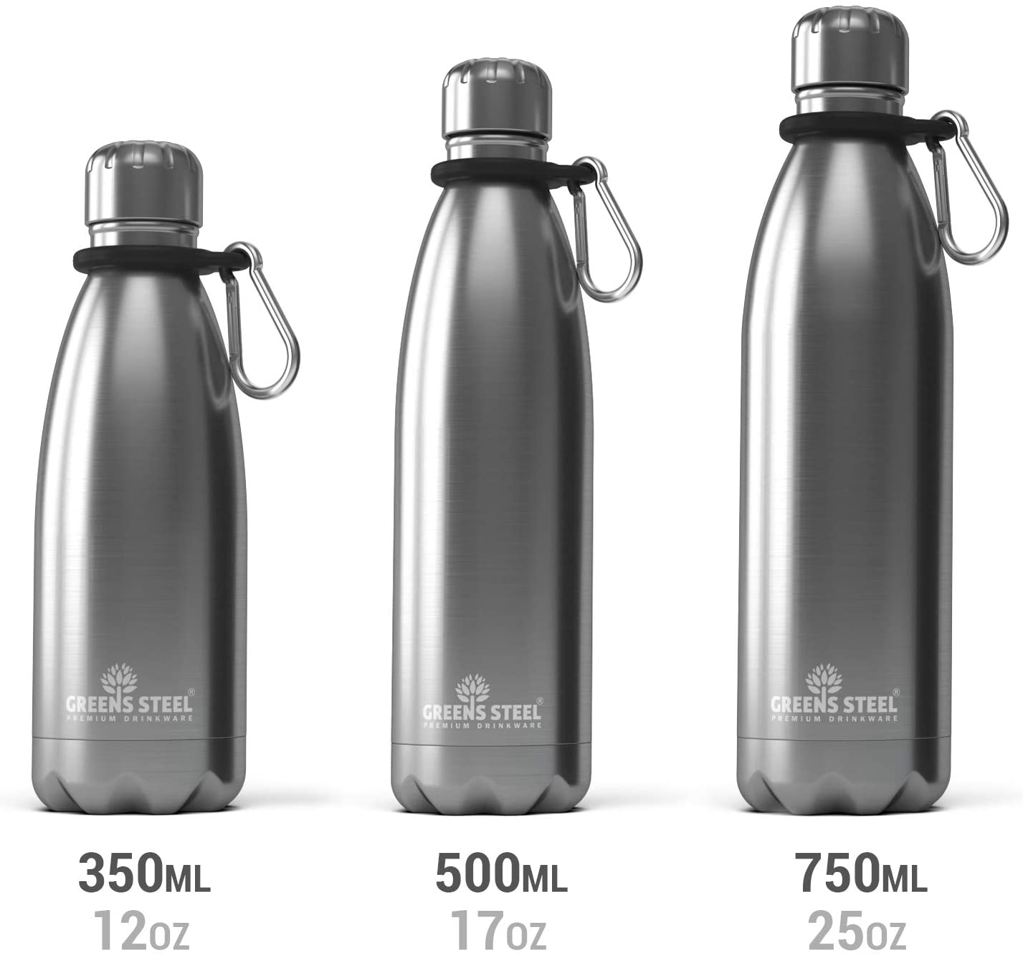 470ml Lezyne Classic bottiglia in acciaio inox