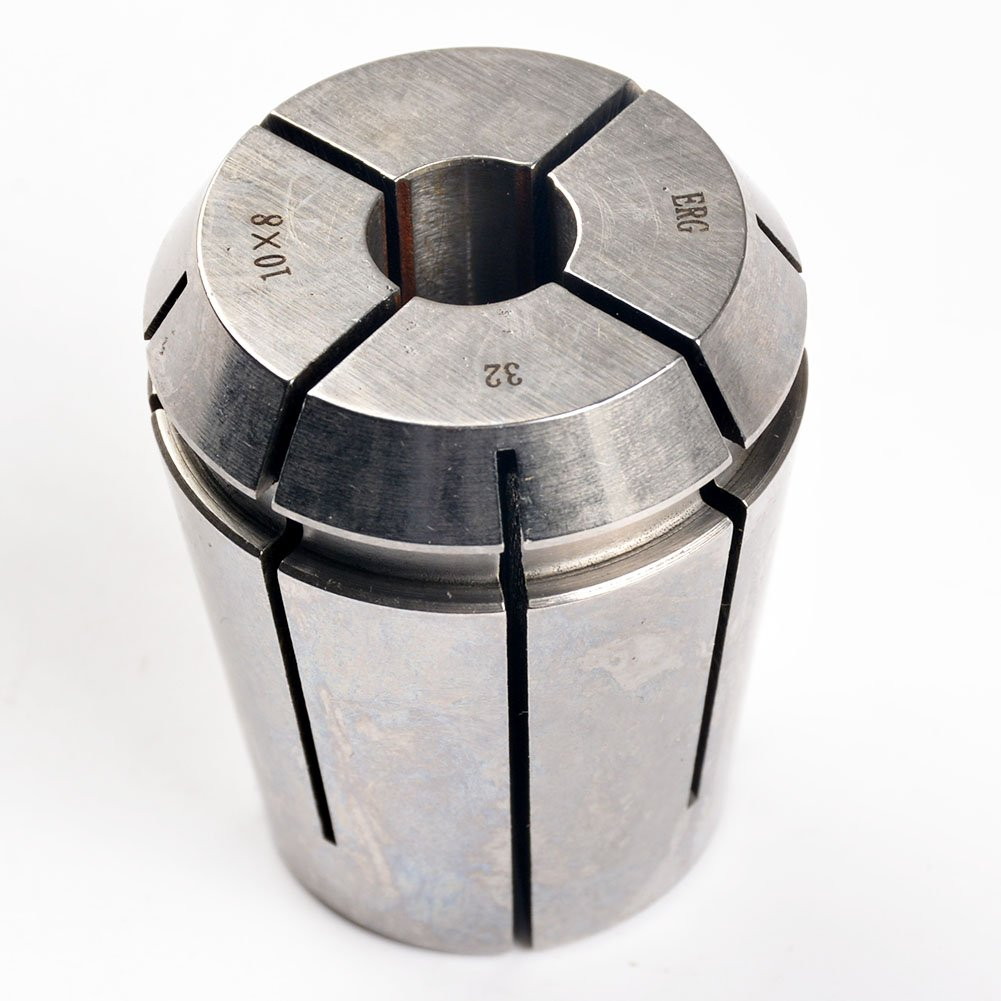 ERG32 10×8 Advanced Formula Spring Steel Collet Sleeve Tap,For Lathe CNC Engraving Machine & Lathe Milling Chuck