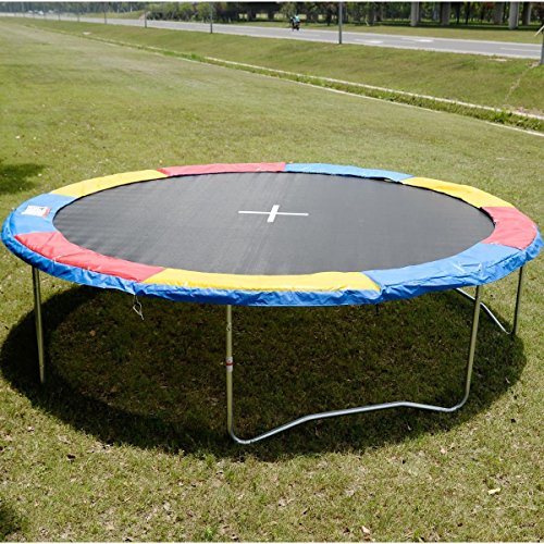 14 FT Trampoline Safety Pad EPE Foam Spring Cover Frame Replacement Multi Color from Unknown