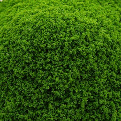 ライトグリーン グリーン ミニツリーモデル 風景 DIY 葉モデル モデル構築 鉄道模型 マイクロ風景
