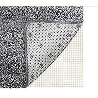 Teppichunterlege Antirutschmatte für Teppiche Teppichstopper zuschneidbar rutschhemmend pflegeleicht strapazierfähig Büro Schlafzimmer Küche Bad idealer Rutschschutz für Teppich — weiß 200*80CM POAO
