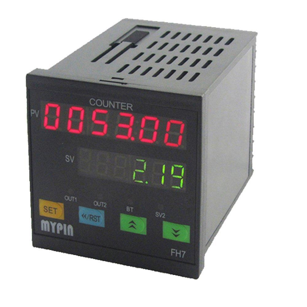 BAOSHISHAN FH7-6CRNB Digital Preset Counter Scaler 90-260v AC-DC Preset Output