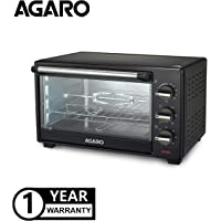 AGARO Majestic Series Oven Toaster Griller with Rotisserie (Black)