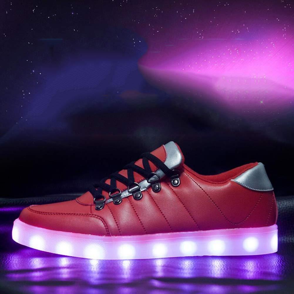 Männer und Frauen Schuhe Comfort LED Turnschuhe Trainer Schuhe Freizeit Schuhe Mode atmungsaktive Schuhe Weihnachten, Halloween, Ghost Step Dance Schuhe