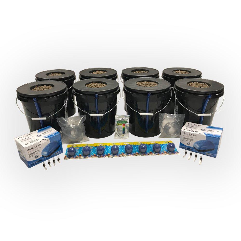 Viagrow VDIY-8 8 Dwc Hydroponic 8-Plant System