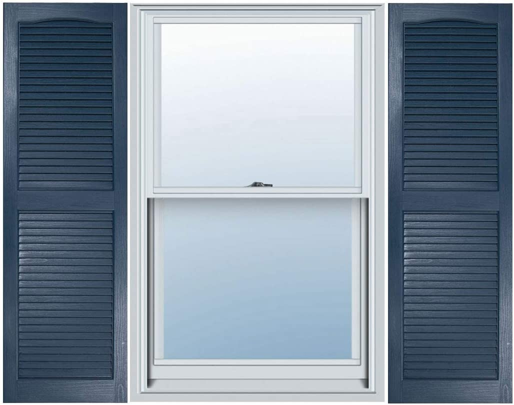 Builders Choice EVL15047IB Shutters 14 1//2 x 47 Indigo Blue