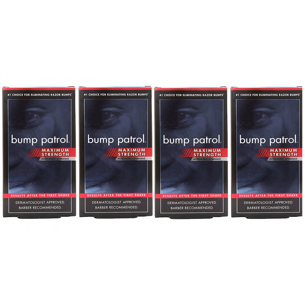 Bump Patrol Maximum Strength Aftershave Formula - After Shave Solution Eliminates Razor Bumps and Ingrown Hairs - 2 Ounces Atlas Ethnic hbf-jjj-omgh-mh3139