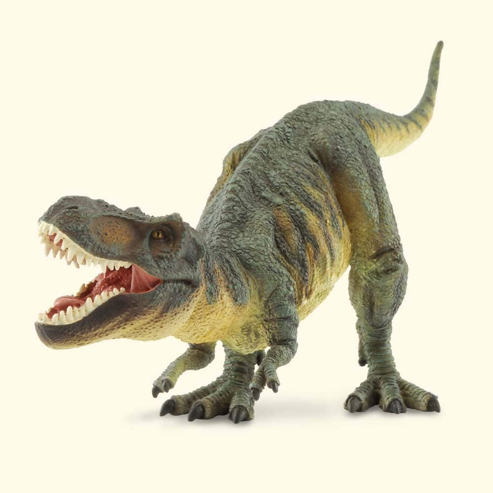 CollectA Prehistoric Life Tyrannosaurus Rex Deluxe 1:40 Scale Dinosaur Figure - Paleontologist Approved Model