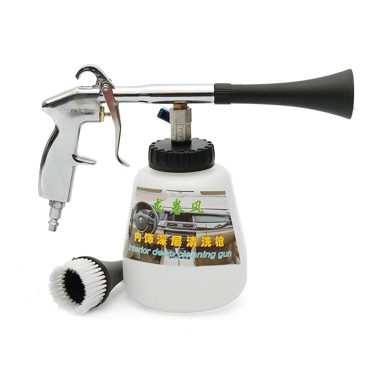 Leeminus - Pistola ad alta pressione per la pulizia auto, per superfici interne ed esterne