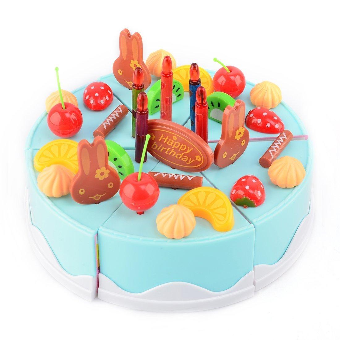 Amazon.com: Cottontail - Juego de juguetes para tartas de ...