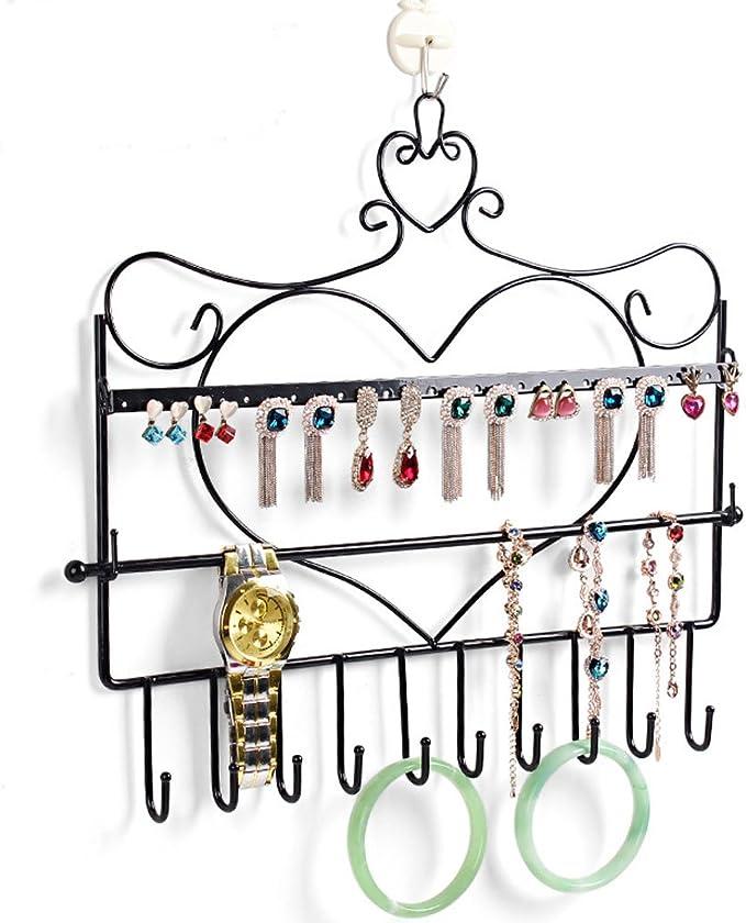 Wandschmuckhalter Halskette Ohrring Display Haken Aufhänger Kupfer Metall