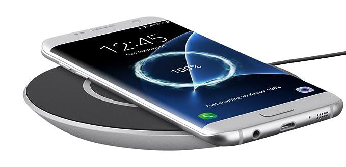 Amazon Com Belkin F7u014dqslv Boost Up Qi 15w Wireless Charging Pad