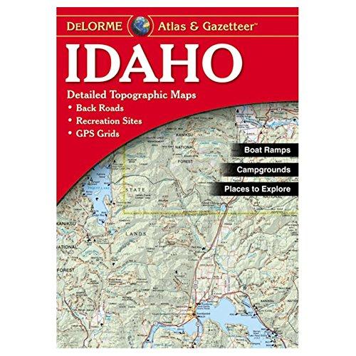 Garmin Delorme Atlas & Gazetteer Paper Maps- Idaho, AA-008798-000 -
