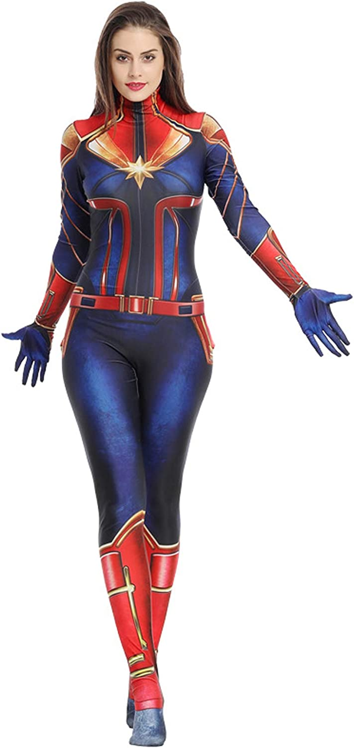 Amazon Com Captain Marvel Costume Captain Marvel Cosplay Captain Marvel Cosplay Costume Suit Full Set For Women Medium Jumpsuit Clothing Email norman@tested.com with sdcc cosplay along with the photo number in the subject line and help me name all of these characters and cosplayers! captain marvel costume captain marvel cosplay captain marvel cosplay costume suit full set for women medium jumpsuit