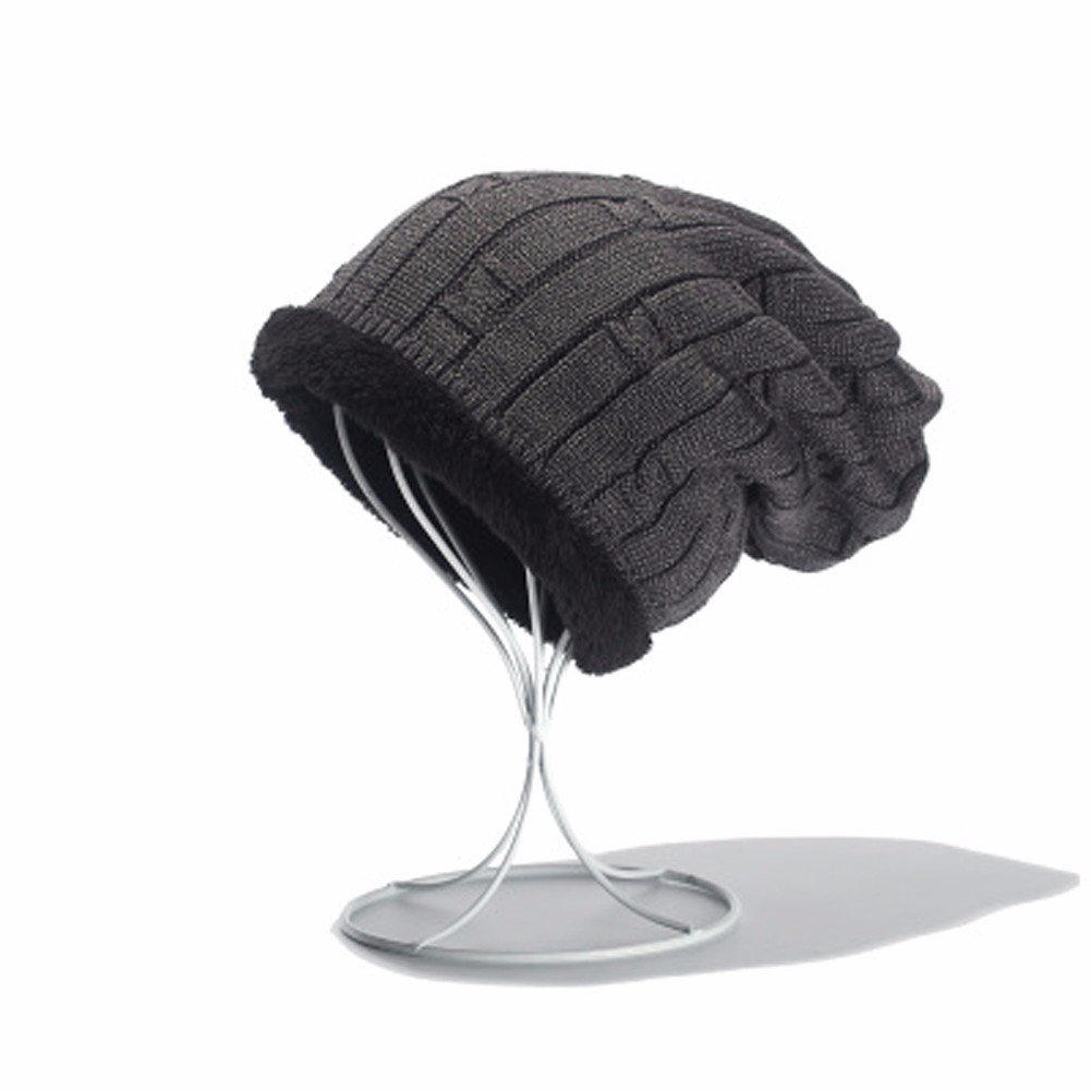 ff5b5a16d18 Amazon.com   SSBY Fall winter days warm and plush padded men s wool hat  winter knit hat men s hats in baotou Hat wool ski