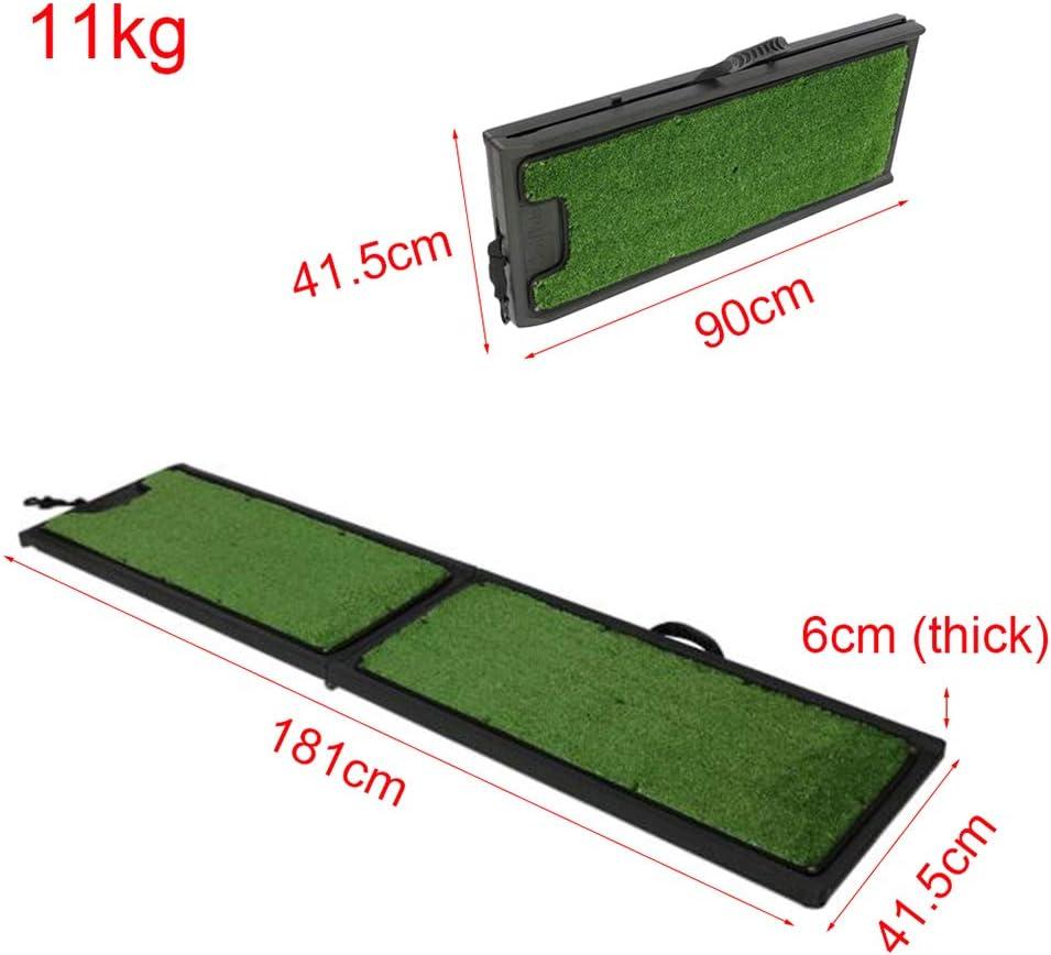 S/ûR Et Compact L/éGer Et Fort Ramps Rampes De Voyage Double Pliage Portable Anti-D/éRapant MZTYH Rampe pour Chien Pliable X1