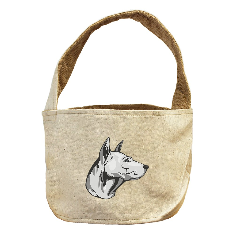 Style in Print Canvas And Burlap Storage Basket Thai Ridgeback Head By by Style in Print