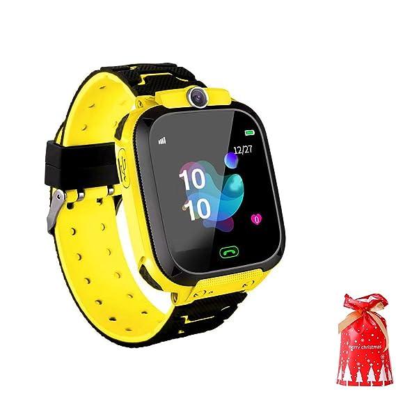 SmartWatch Niños con Localizador GPS De Los Niños contra La Pérdida Inteligente Muñequera Impermeable Cámara De Posicionamiento Remoto Smart Call ...