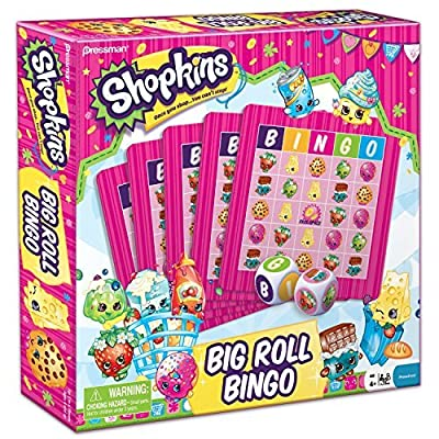 Shopkins Big Roll Bingo