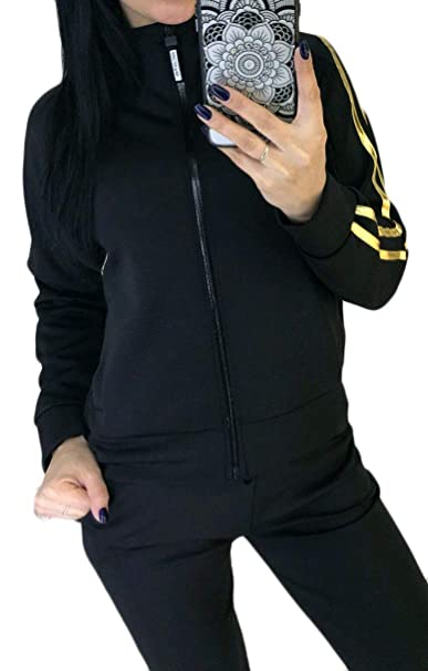 VITryst-Women Outdoor Running Full-Zip Stand Collar Yoga 2 ...
