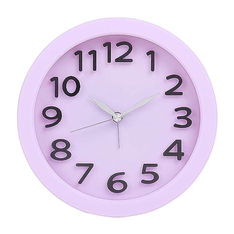 5693ea8c8 Buy Tuelip Round Shape Table Clock