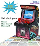 MINI ARCADE GAMES Retro Tiny Video Game Arcade Cabinet for Kids Portable Electronic Handheld Gaming Console with 200 Classic Games Cheap and Easy for Eyes